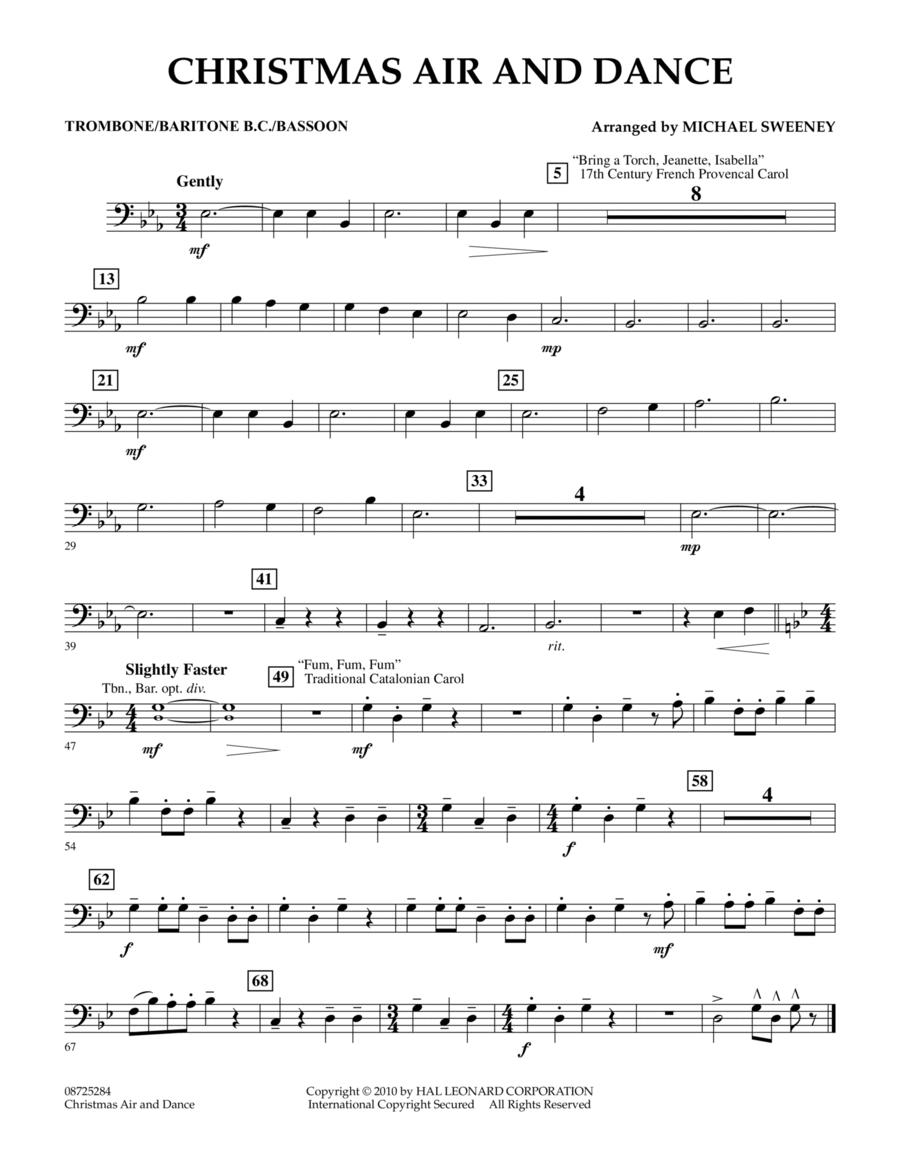 Christmas Air And Dance - Trombone/Baritone B.C./Bassoon