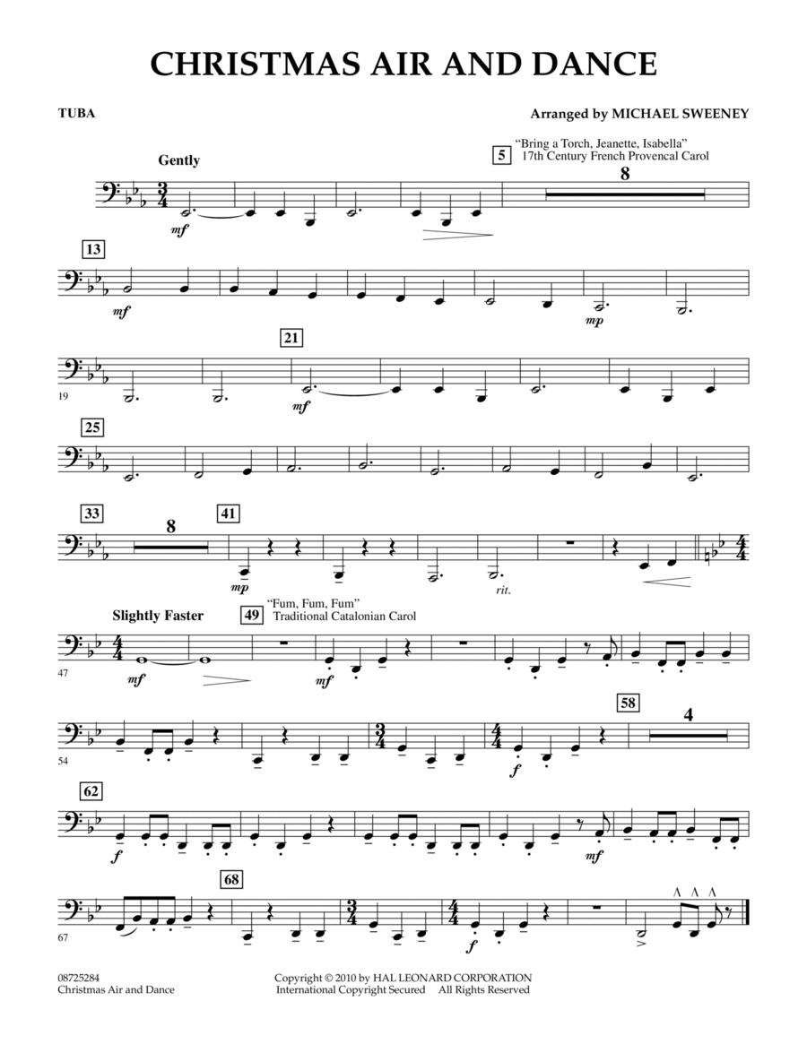 Christmas Air And Dance - Tuba