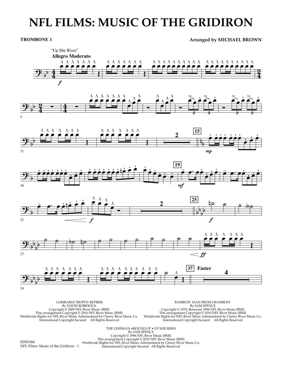 NFL Films: Music Of The Gridiron - Trombone 1