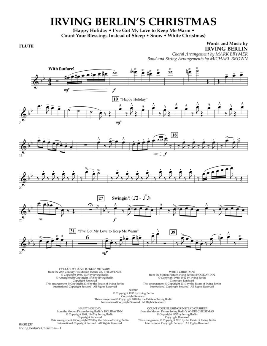 Irving Berlin's Christmas (Medley) - Flute