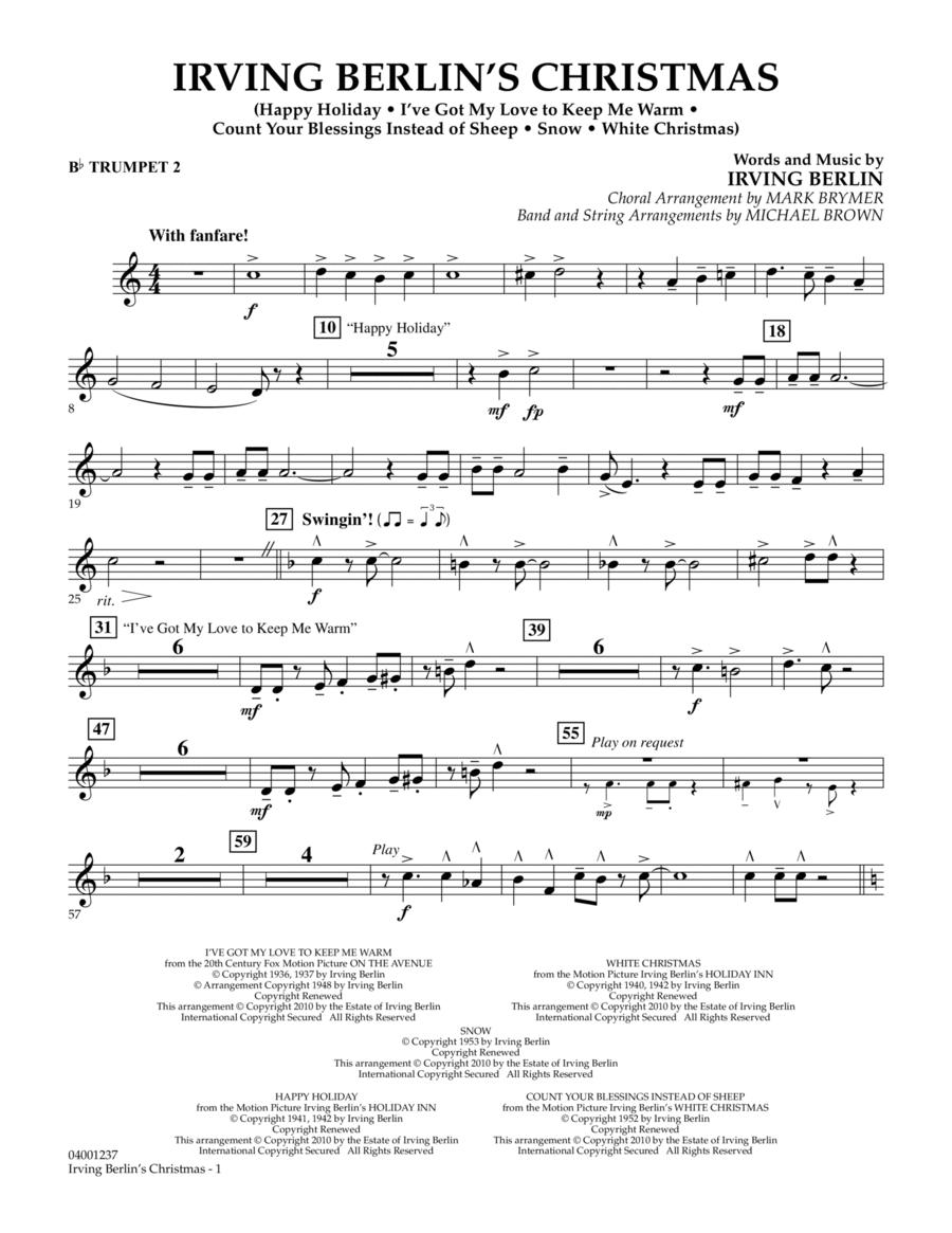 Irving Berlin's Christmas (Medley) - Bb Trumpet 2