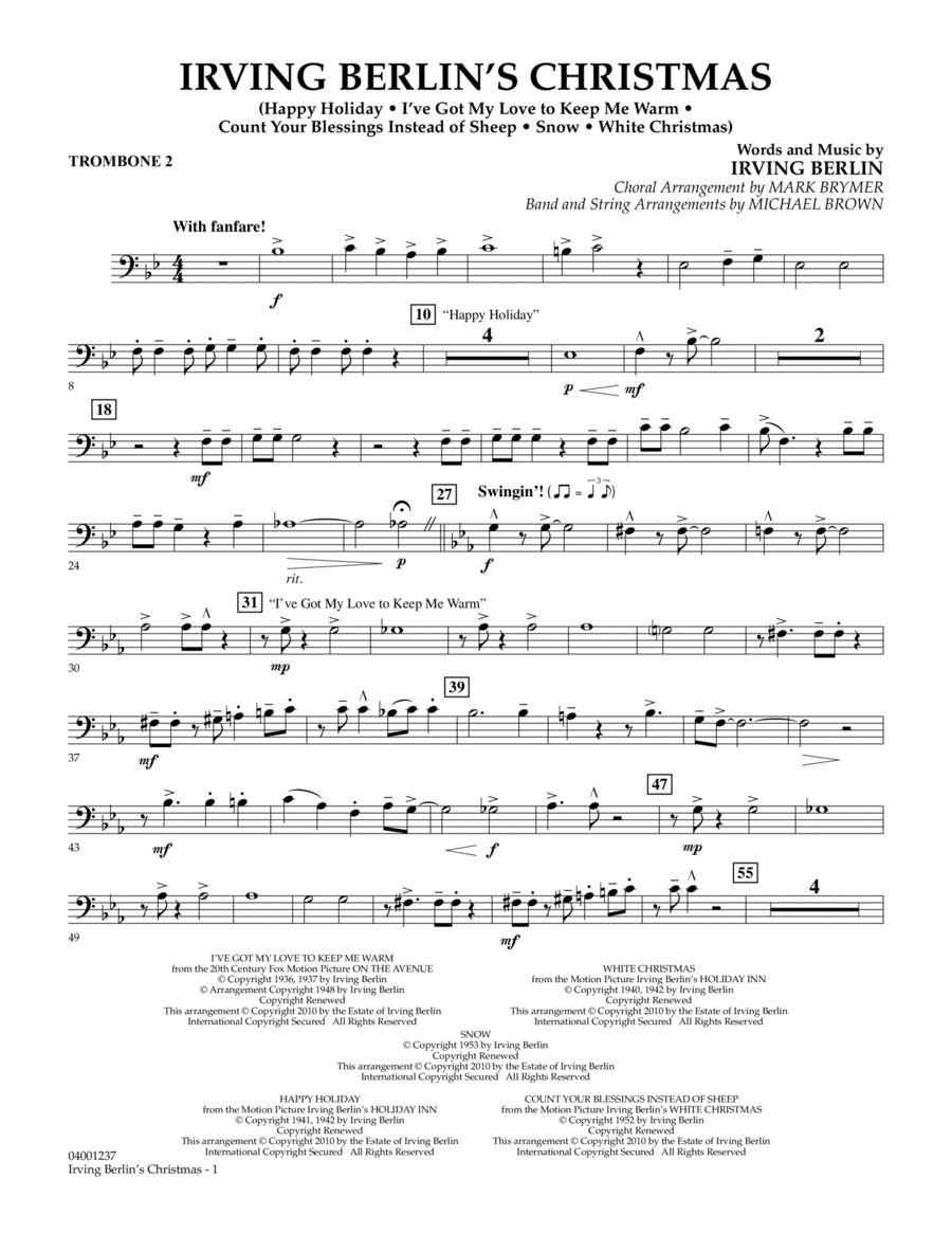 Irving Berlin's Christmas (Medley) - Trombone 2