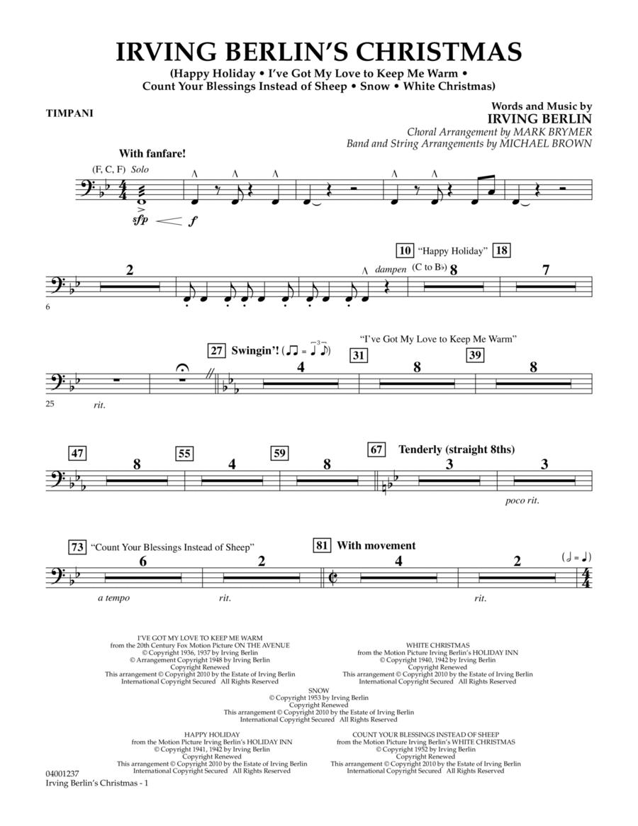 Irving Berlin's Christmas (Medley) - Timpani