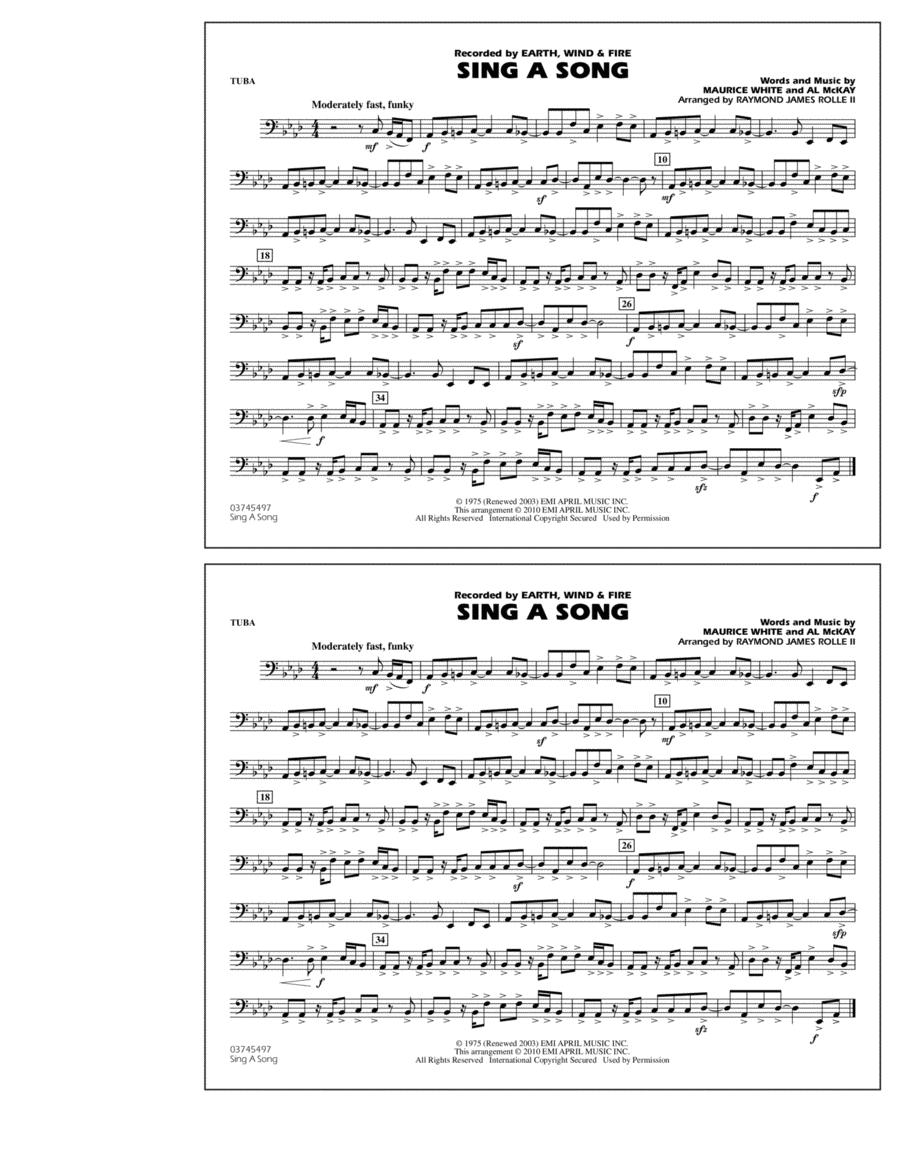 Sing A Song - Tuba