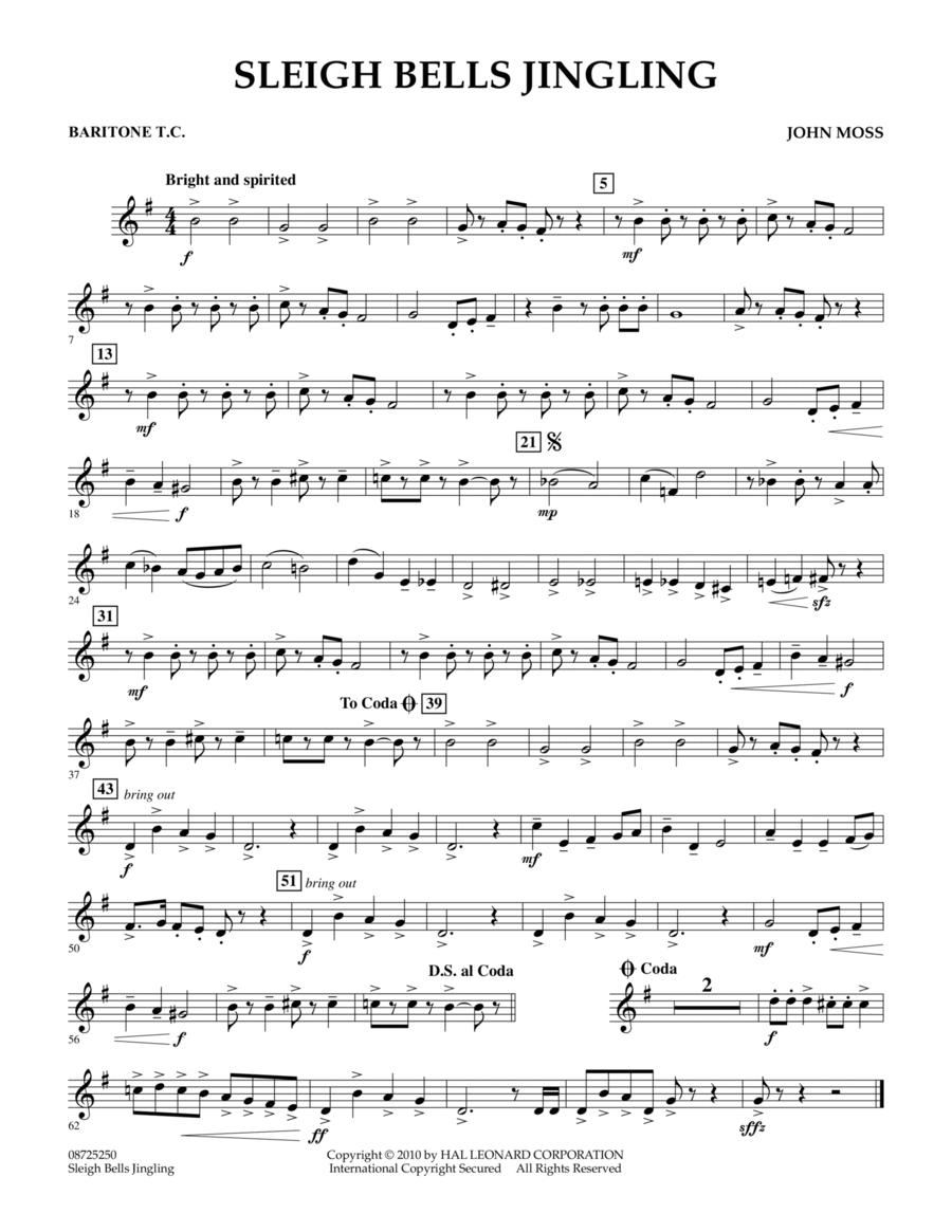 Sleigh Bells Jingling - Baritone T.C.