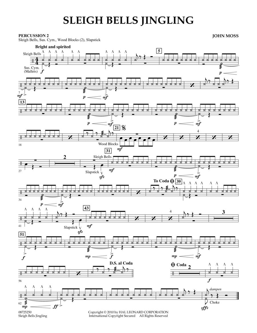 Sleigh Bells Jingling - Percussion 2
