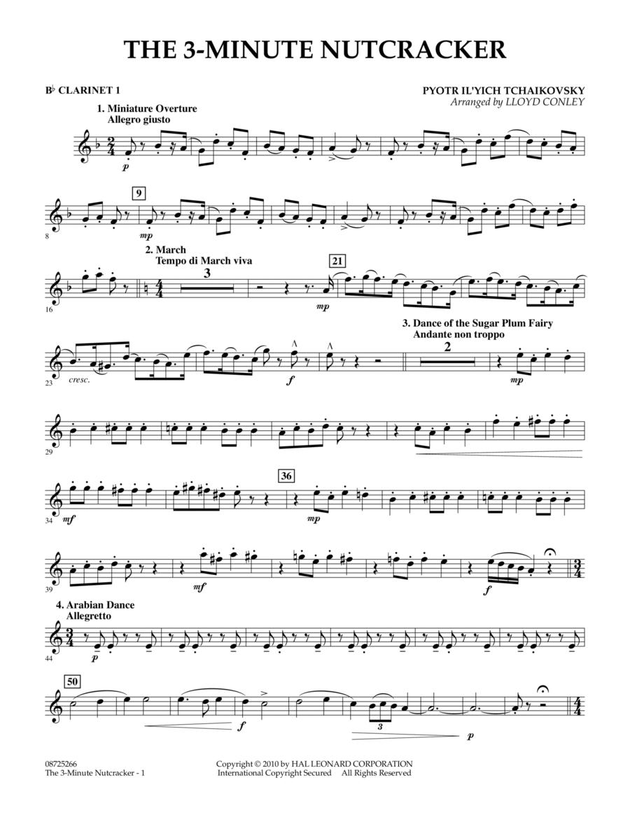 The 3-Minute Nutcracker - Bb Clarinet 1