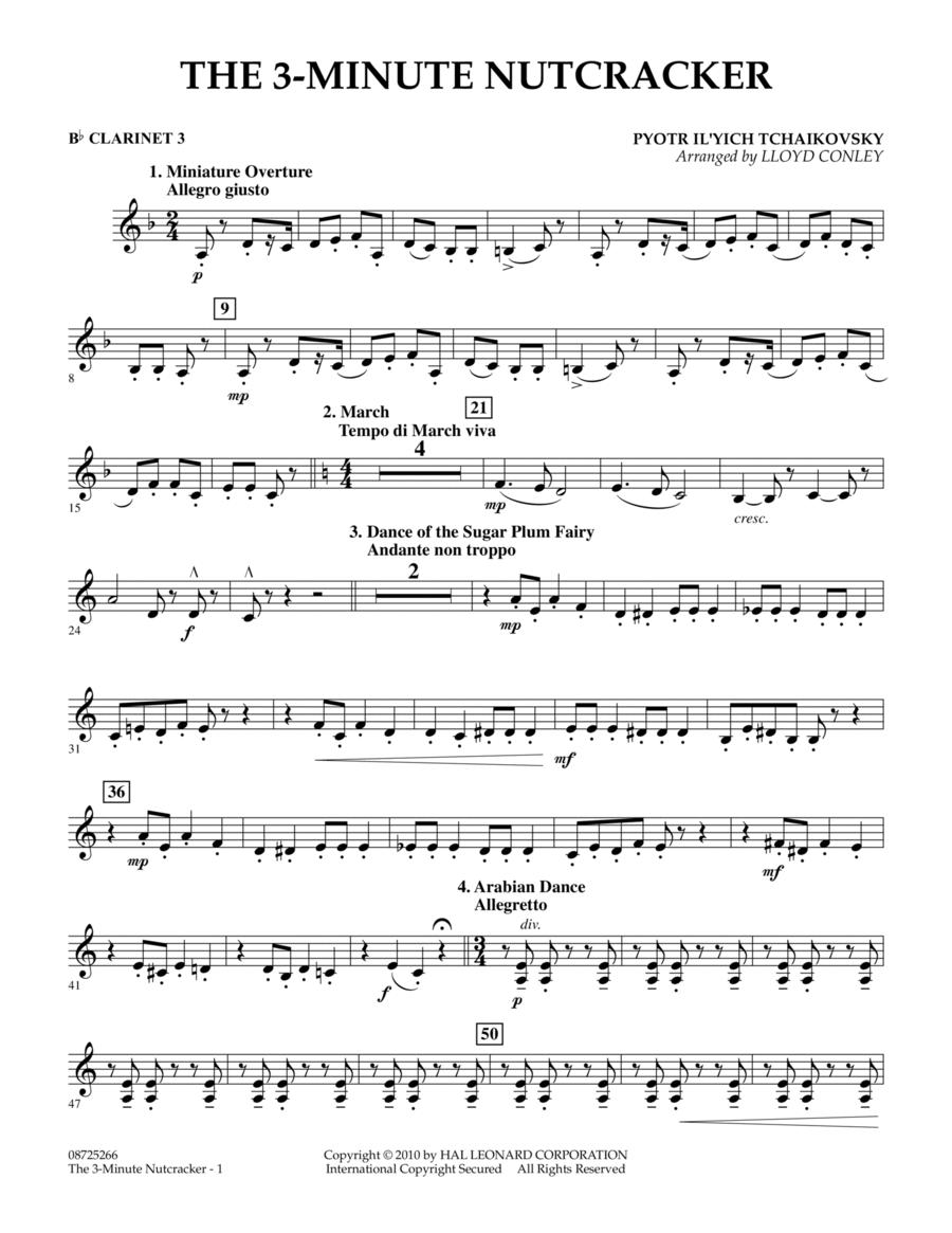 The 3-Minute Nutcracker - Bb Clarinet 3