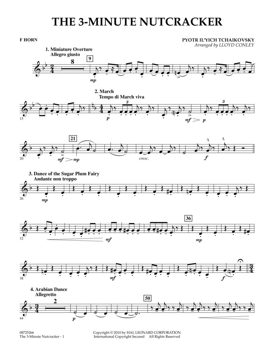 The 3-Minute Nutcracker - F Horn