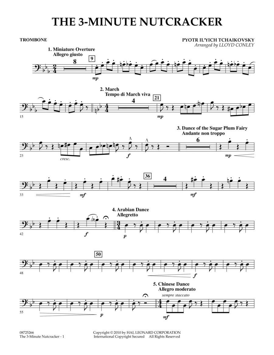 The 3-Minute Nutcracker - Trombone