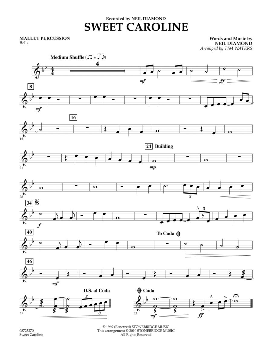 Sweet Caroline - Mallet Percussion