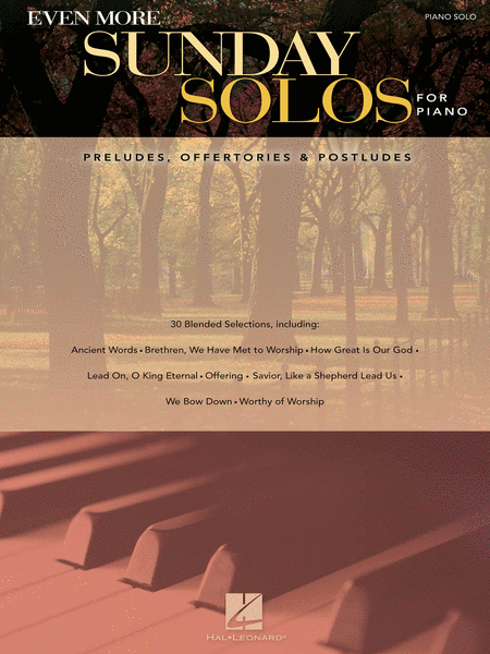 Even More Sunday Solos for Piano