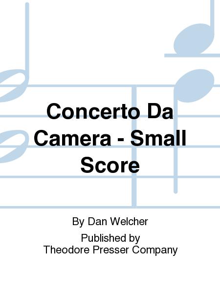 Concerto Da Camera - Small Score
