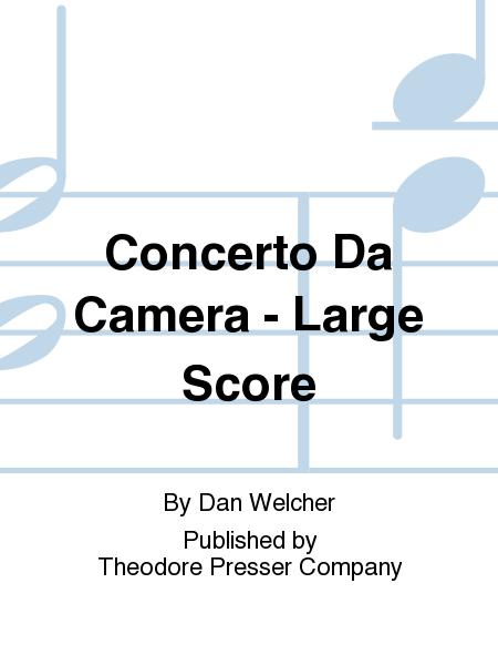 Concerto Da Camera - Large Score