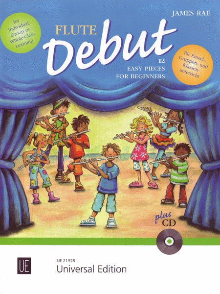 Flute Debut - Pupils Book With Cd