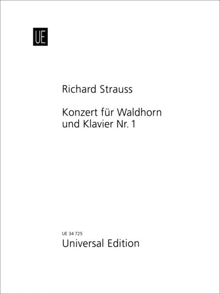 Konzert Fur Waldhorn Und Klavier No.1 (Horn Concerto No.1 in Eb Major Op.11)
