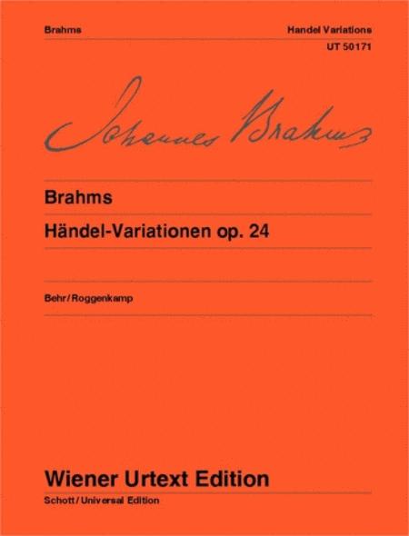 Handel-Variationen Op.24 (Handel Variations Op.24)