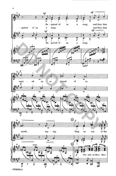 rivers of babylon sheet music pdf