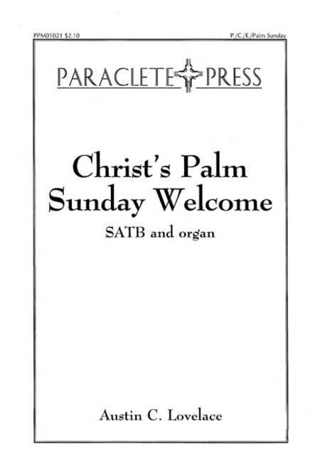 Christ's Palm Sunday Welcome