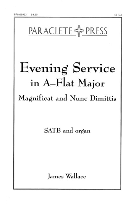 Evening Service in A-Flat Major