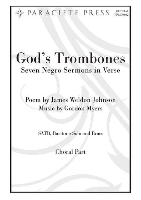 God's Trombones (Seven Negro Sermons in Verse)