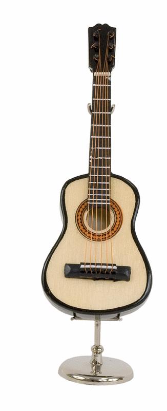 miniature instrument: classical guitar