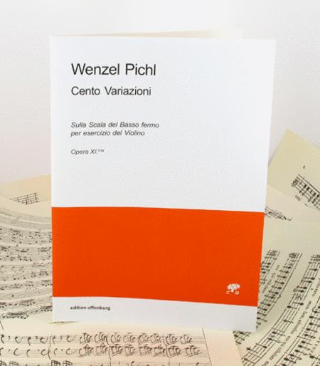 Cento Variazioni sulla scala del basso fermo per esercizio del violino - Opus II