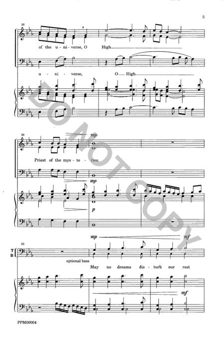 Three Celtic Prayers - II. Patrick's Evening Hymn