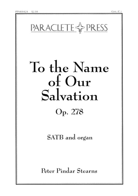 To the Name of our Salvation