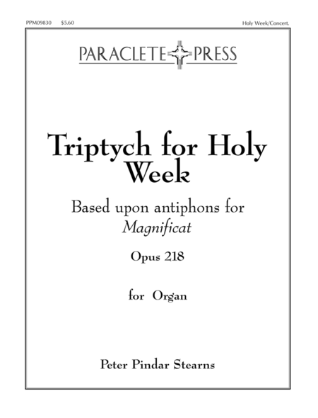 Triptych for Holy Week