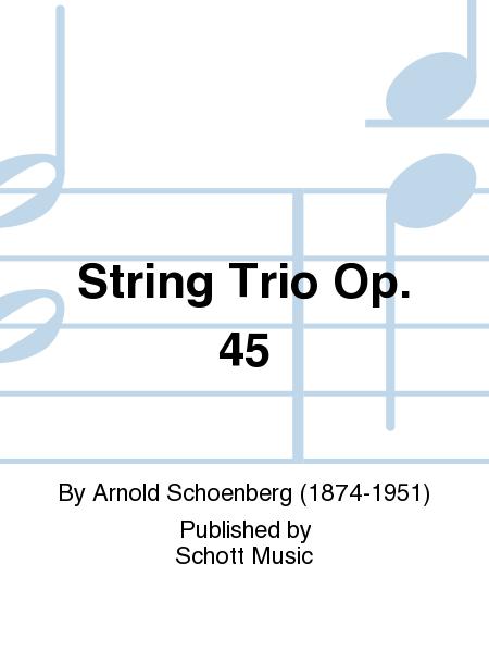 String Trio Op. 45