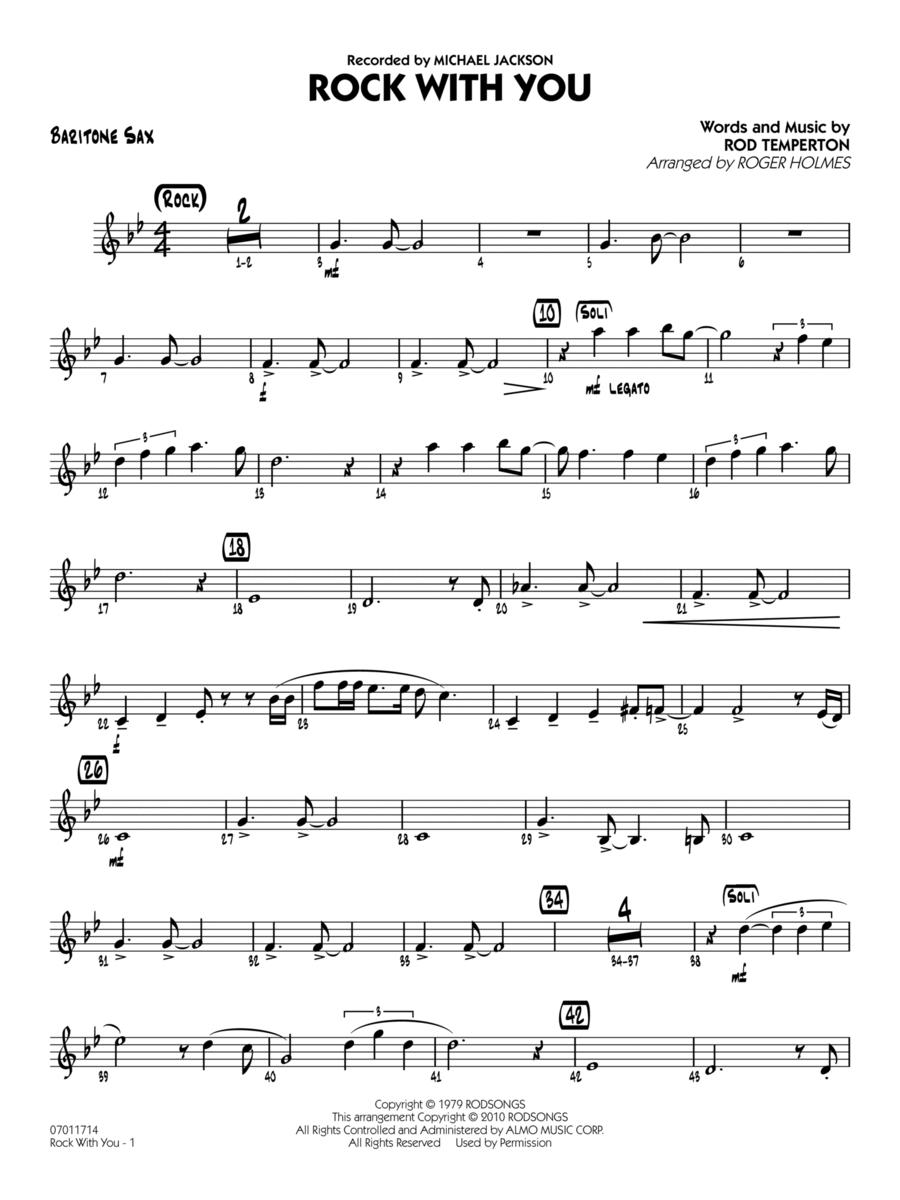 Rock With You - Baritone Sax