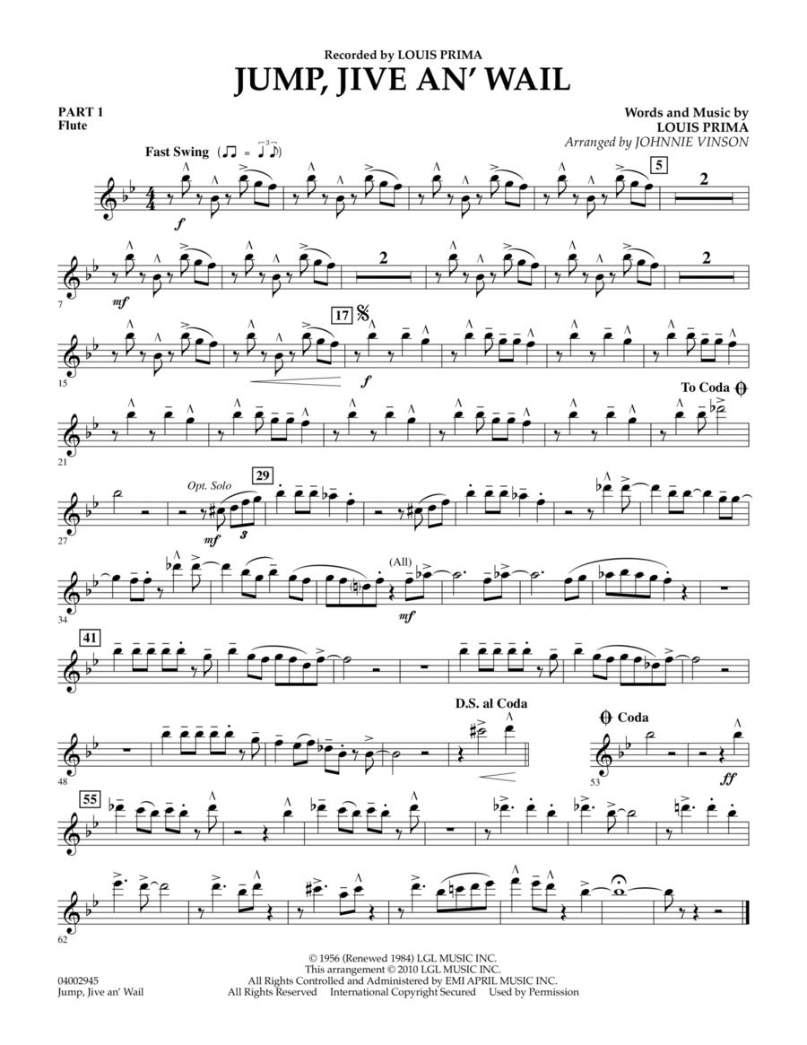Jump, Jive An' Wail - Pt.1 - Flute