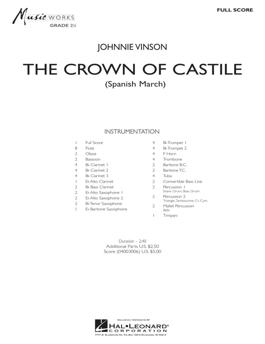 The Crown Of Castile - Full Score