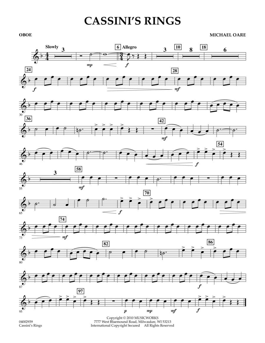 Cassini's Rings - Oboe