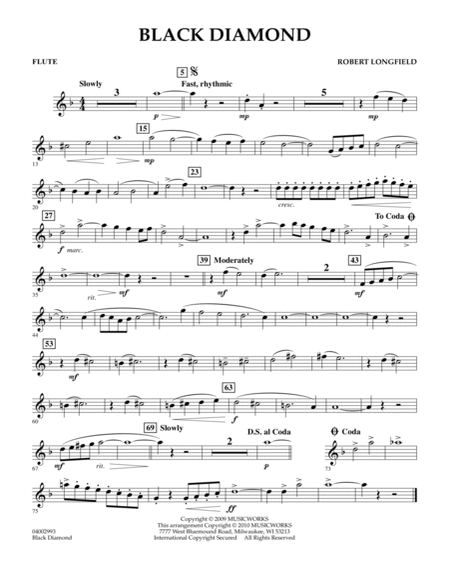 Black Diamond - Flute