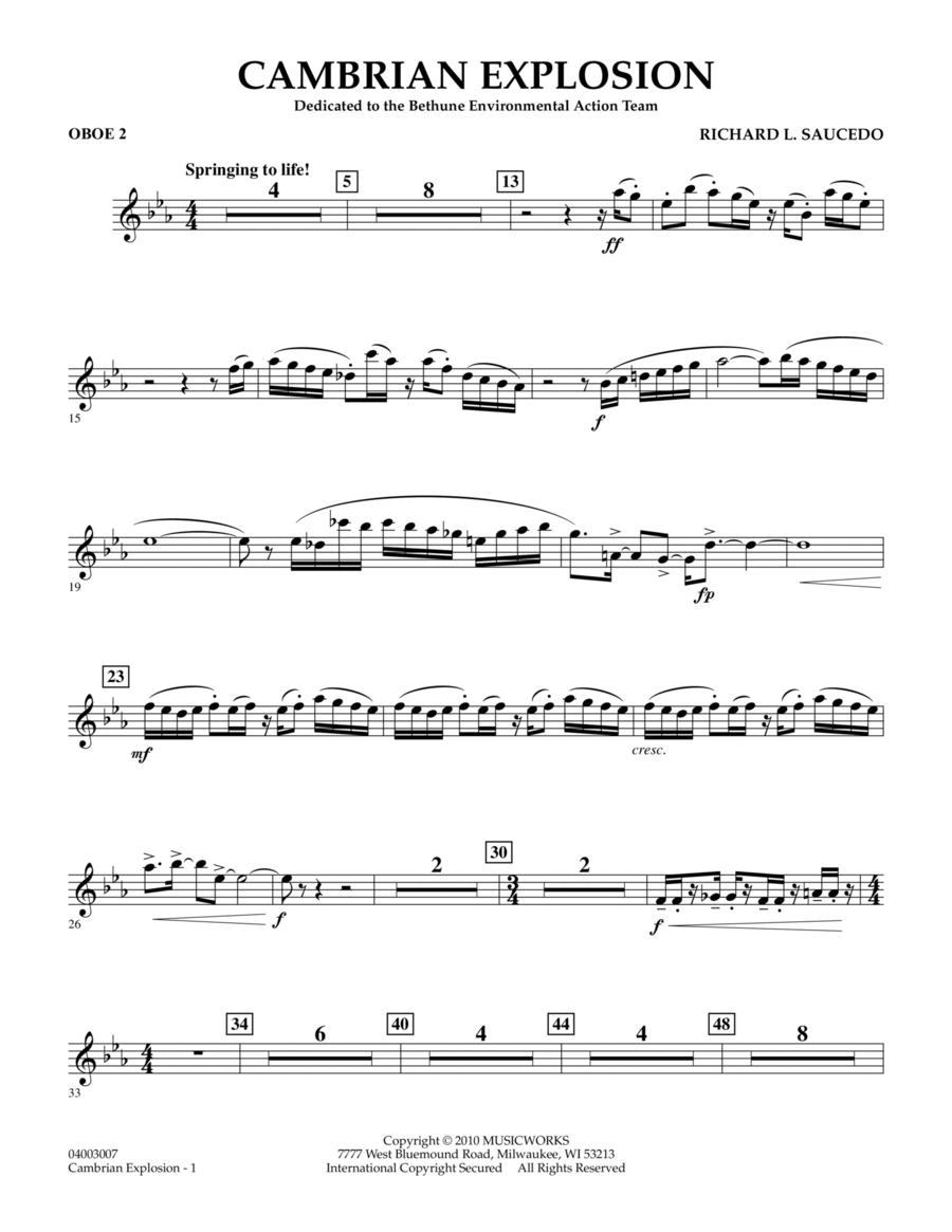 Cambrian Explosion - Oboe 2