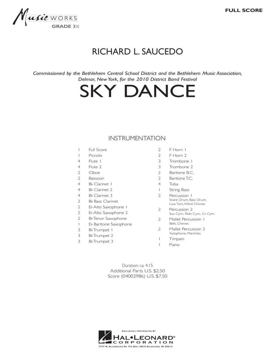 Sky Dance - Full Score