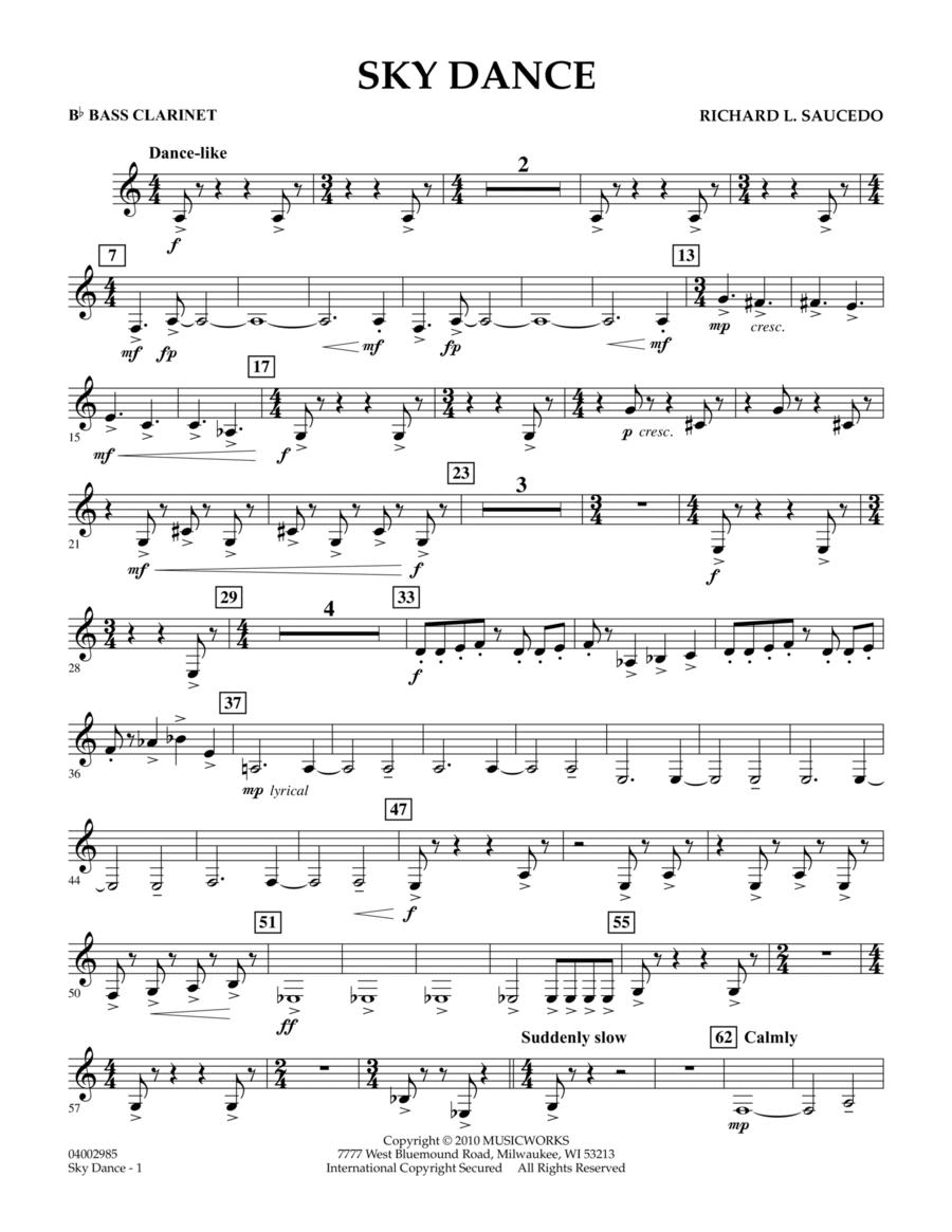 Sky Dance - Bb Bass Clarinet