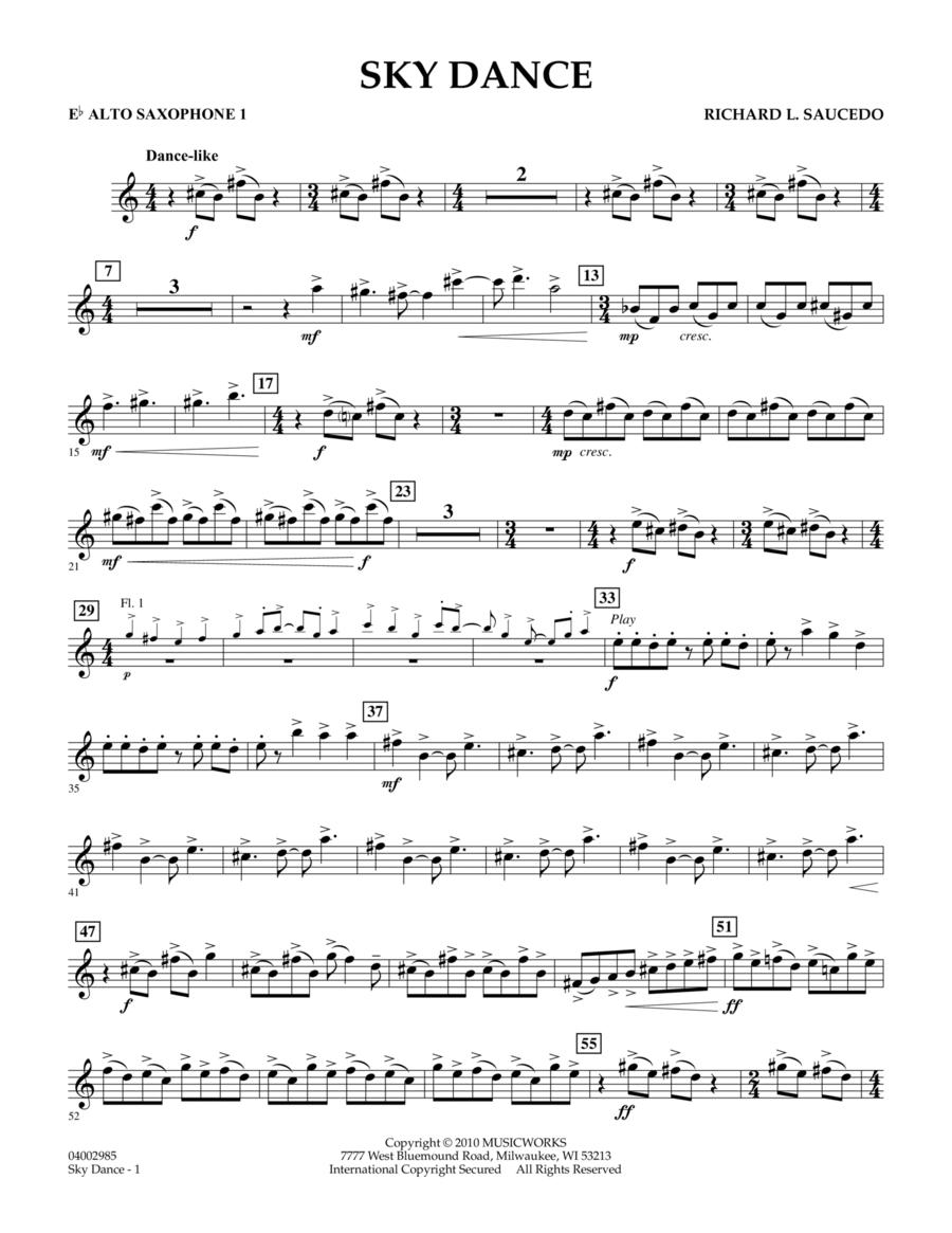 Sky Dance - Eb Alto Saxophone 1