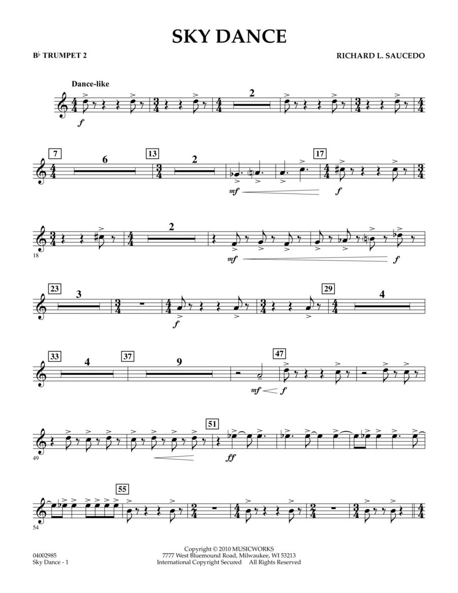 Sky Dance - Bb Trumpet 2