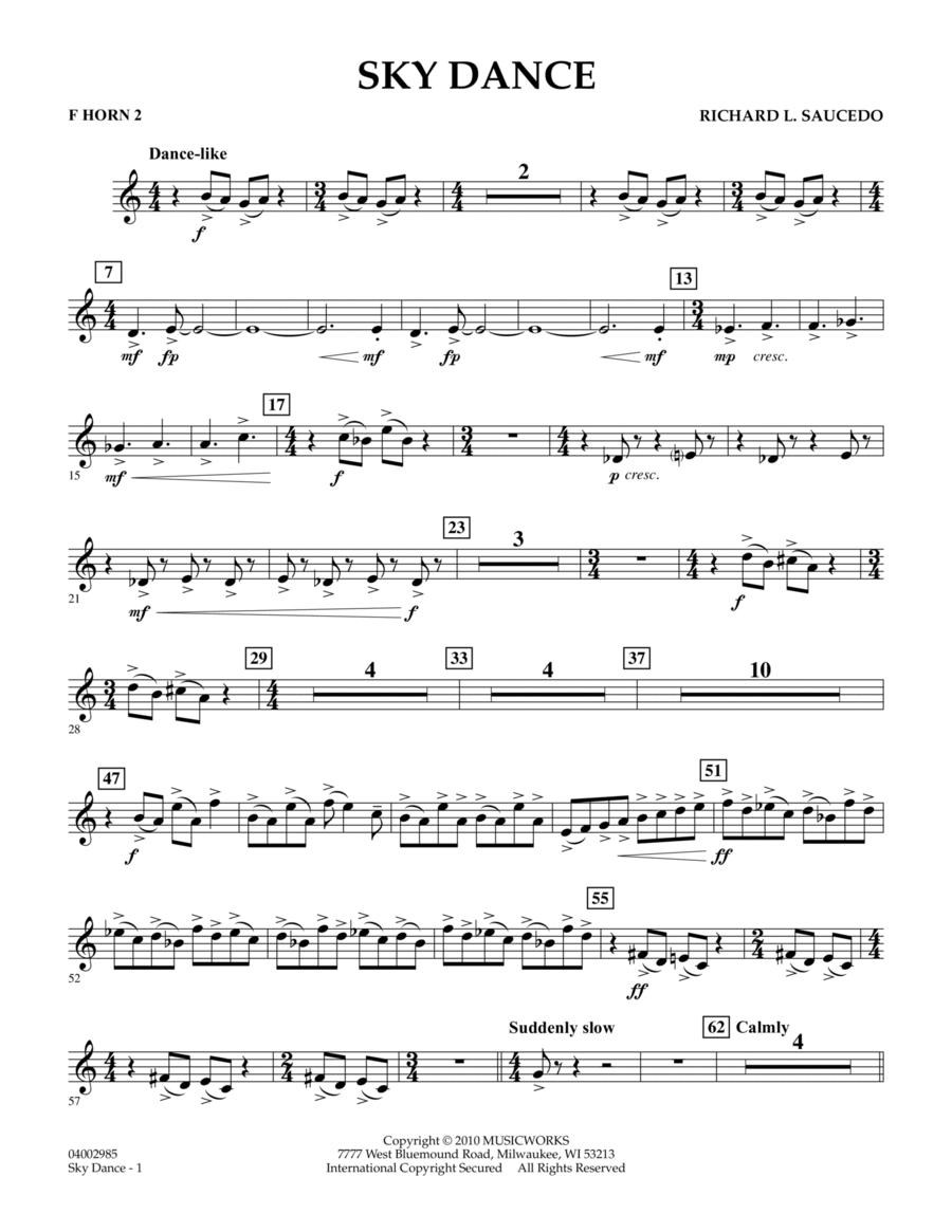 Sky Dance - F Horn 2