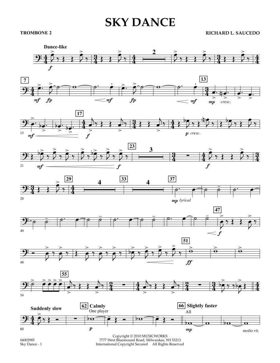 Sky Dance - Trombone 2