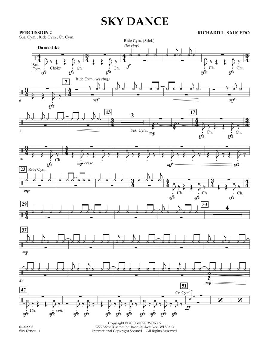 Sky Dance - Percussion 2