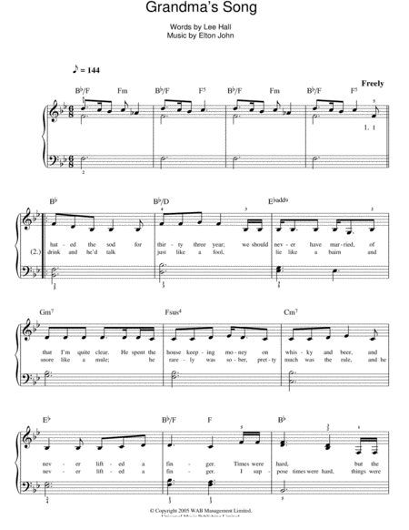 Grandma's Song