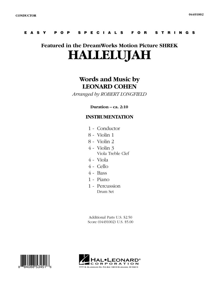 Hallelujah - Full Score