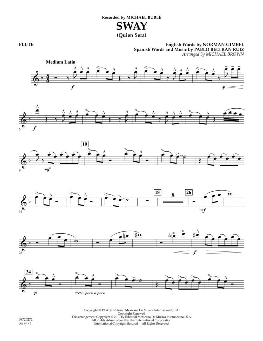 Sway (Quien Sera) - Flute