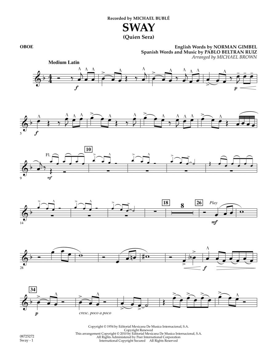 Sway (Quien Sera) - Oboe