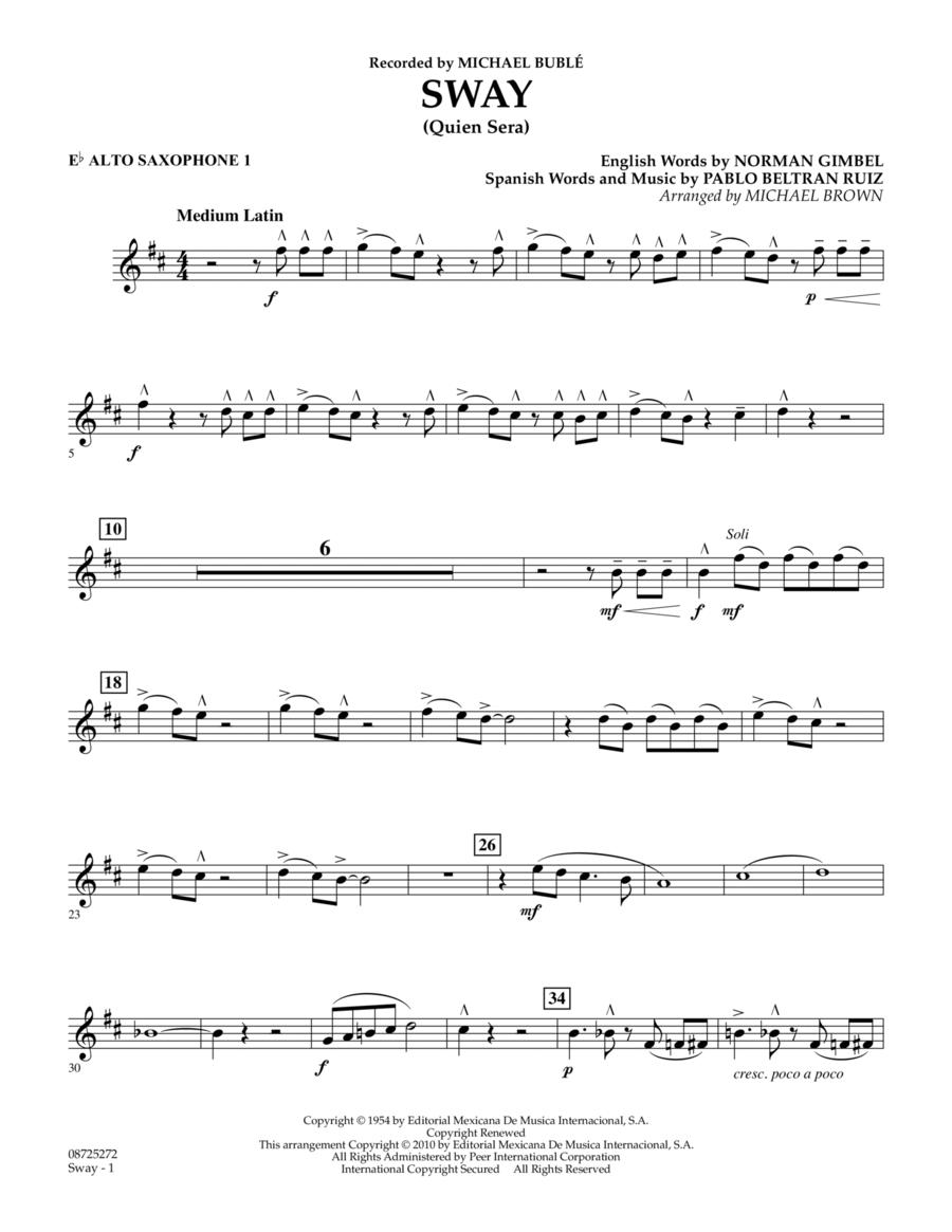 Sway (Quien Sera) - Eb Alto Saxophone 1