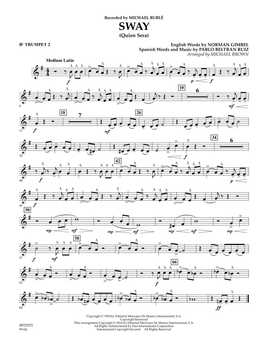 Sway (Quien Sera) - Bb Trumpet 2